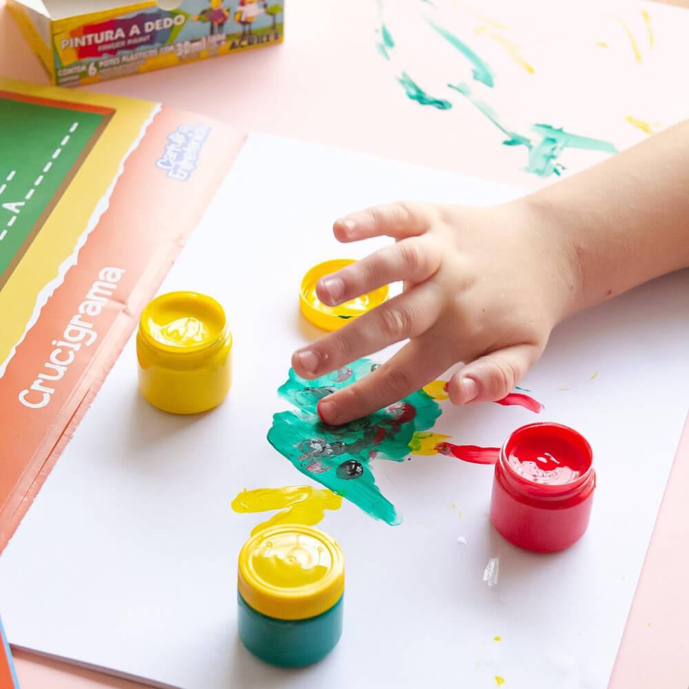 Pintura para dedo